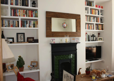 Alcove Cupboards & Shelving