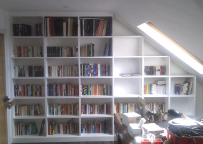 Attic Room Shelving