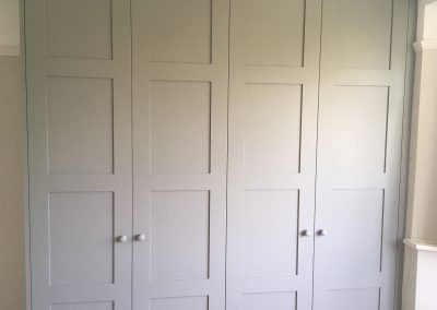 Bespoke Fitted Wardrobe with Panel Doors