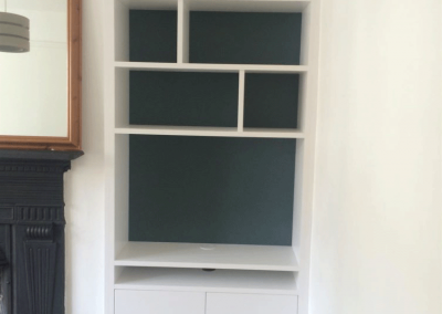 Bespoke Shelving and Cupboard Unit